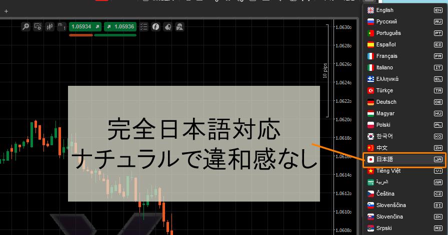 日本語完全対応
