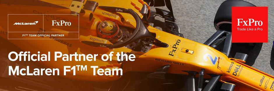 FXProはF1チームの『マクラーレン』の公式スポンサー