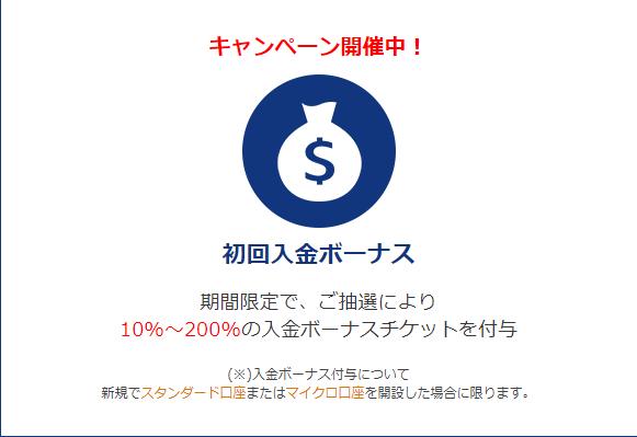 is6comの最大200%入金ボーナス