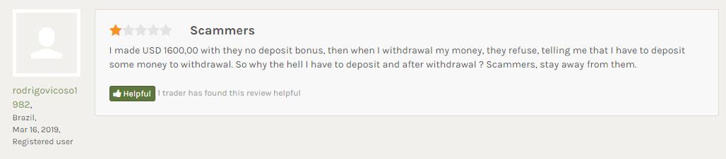 出金しようとしたら入金を要求された